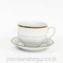 New Hollis Gold  Filiżank Jumbo/spodek 400 ml. /15 cm. (0641)